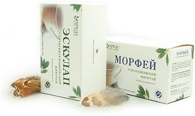 """Фиточаи """"Эскулап"""" и """"Морфей"""" - целебные напитки, приготовленные на основе рецептов, передаваемых из поколения в поколение в семьях потомственных врачевателей."""